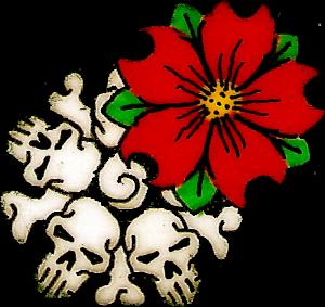 Cherry & Skull Blossom
